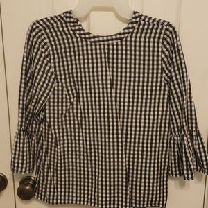 Checkered blouse